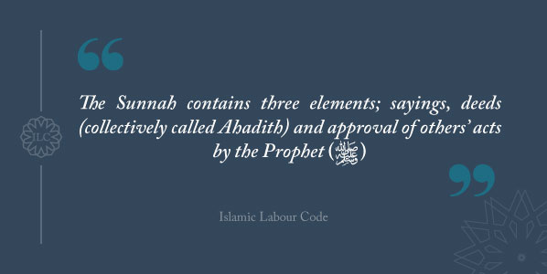 Sources of Islamic Law islamic labour code Sunnah