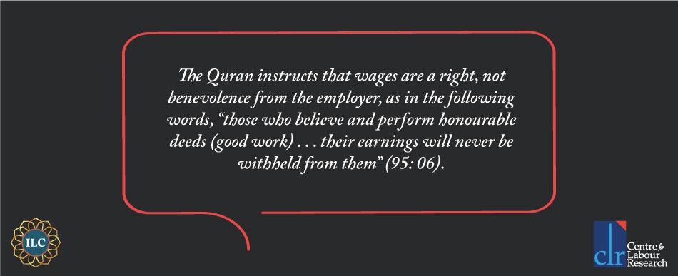 Wages Islamic Labour Code